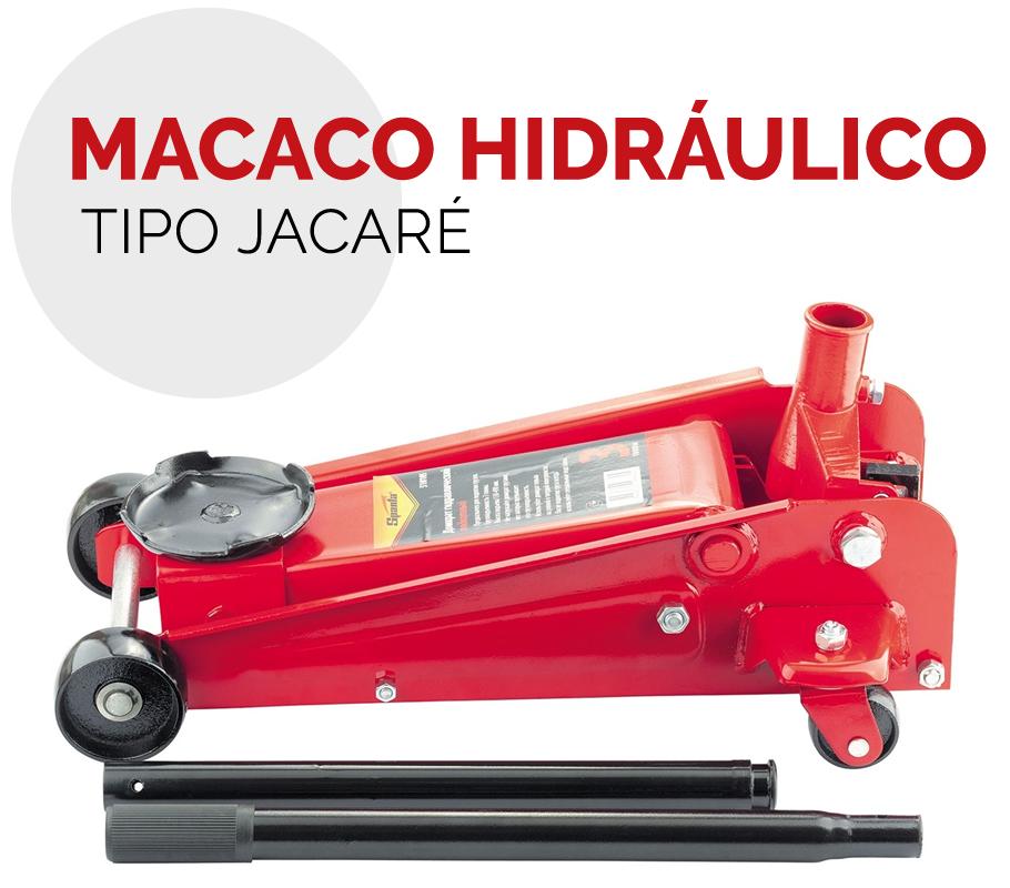 Macaco Jacaré Hidráulico 3t Até 49cm Rebaixado Sparta 510105 em São Paulo
